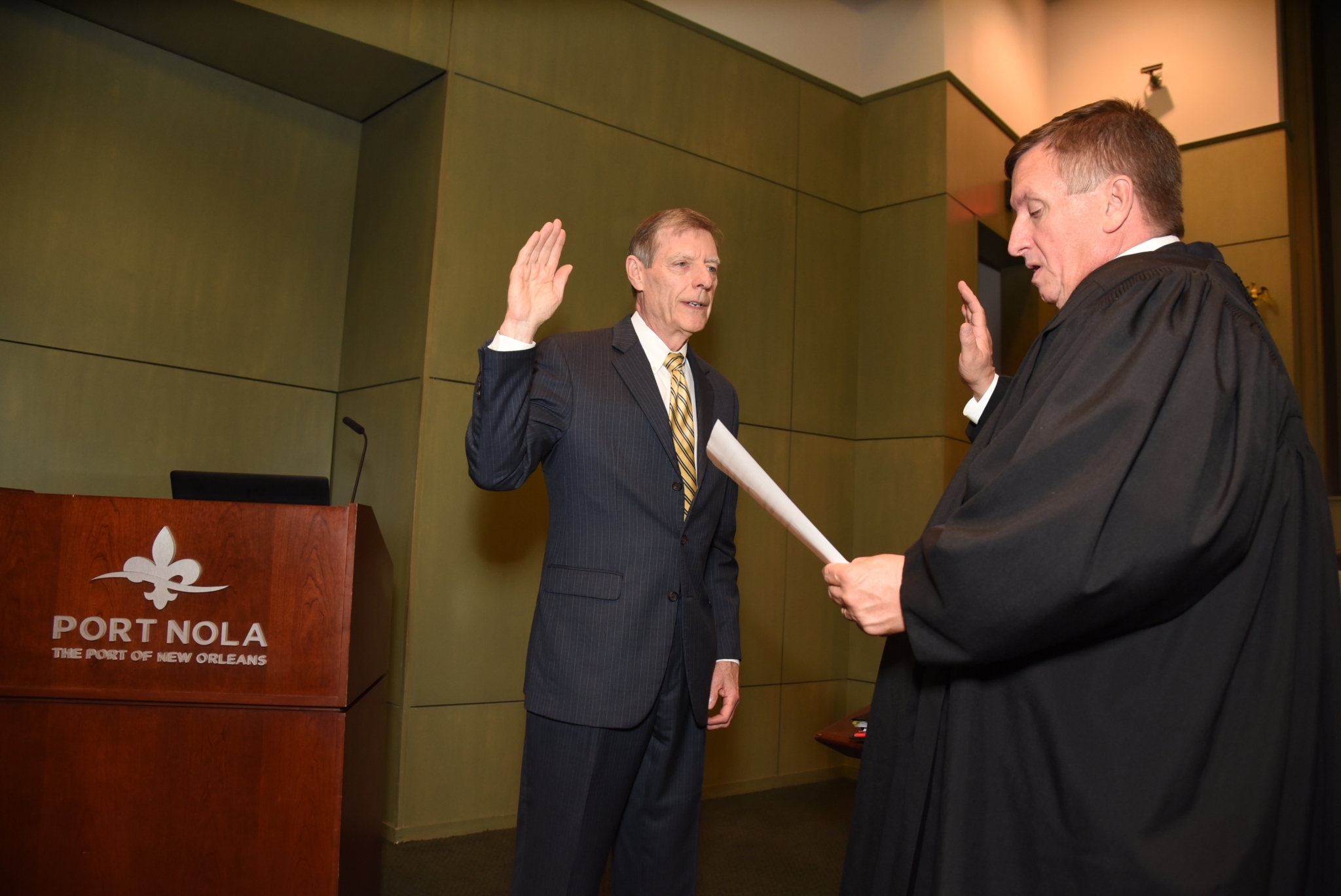 Commissioner Toomy Swearing In 8 22 2019