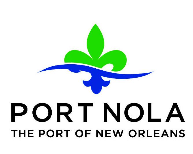 Port NOLA logo color horizontal