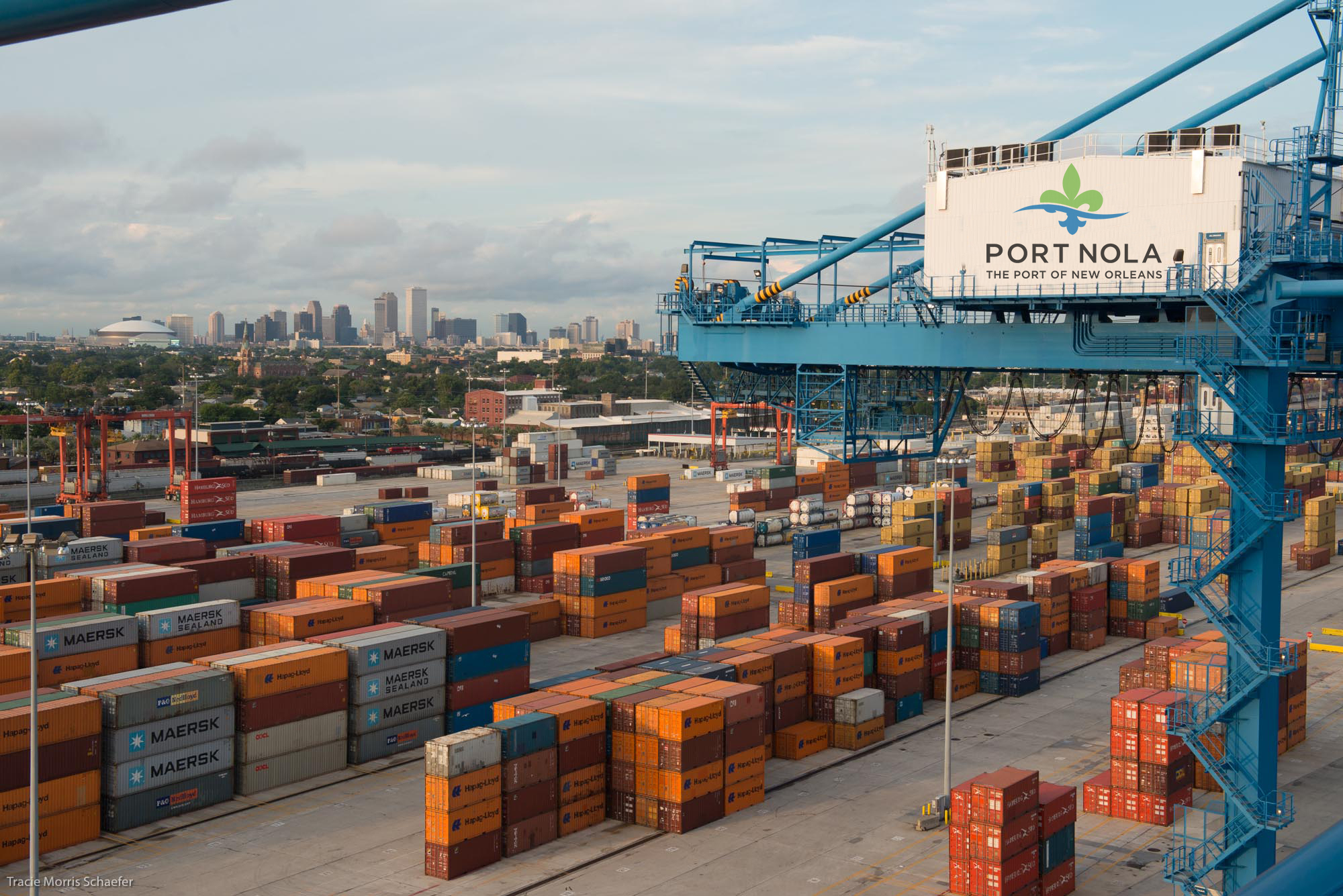 Press Release 2017 03 02 Cargo Connections Conference Portnola Container Yard