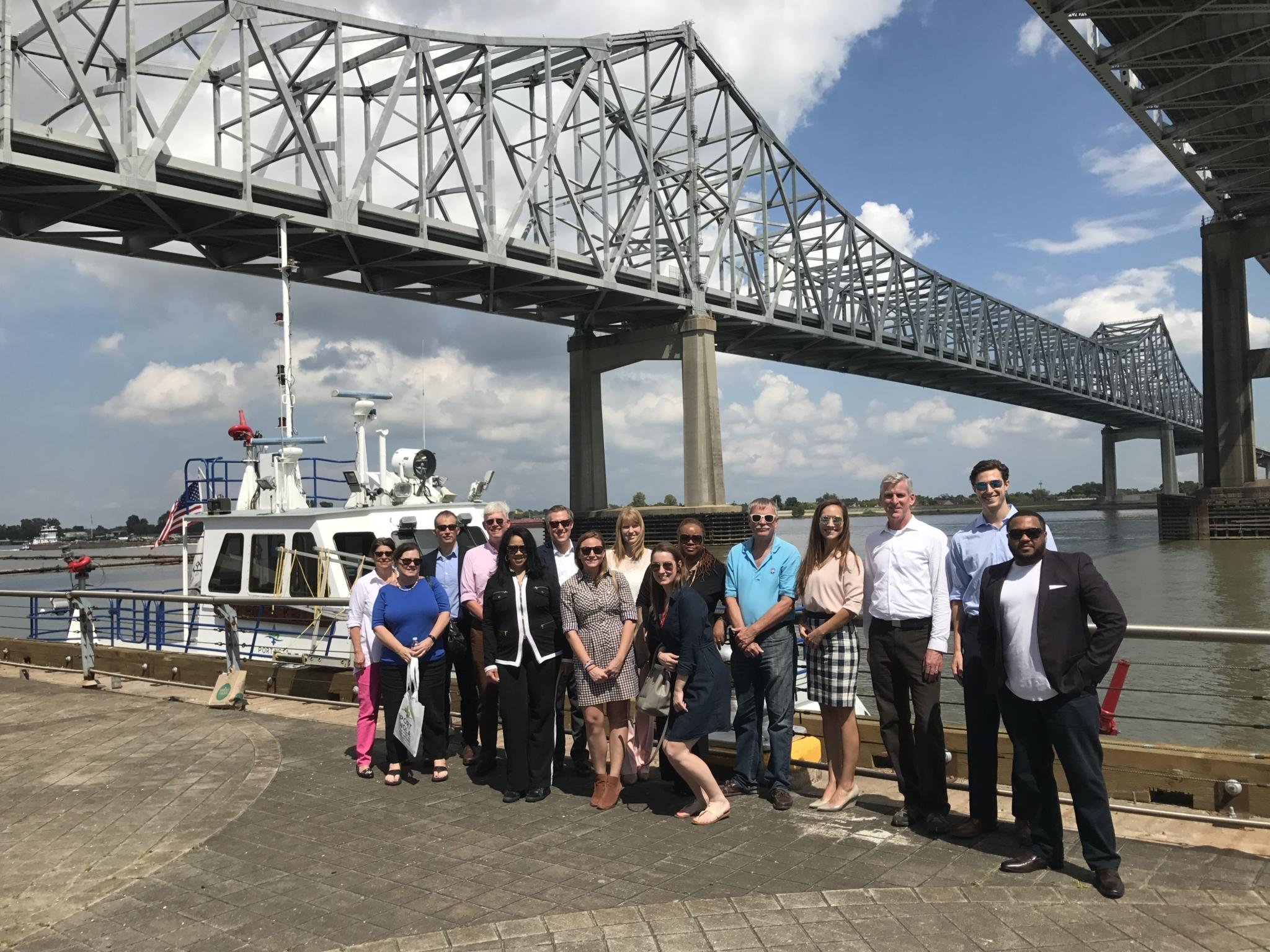 Group Photo at the Port Public Boat Tour
