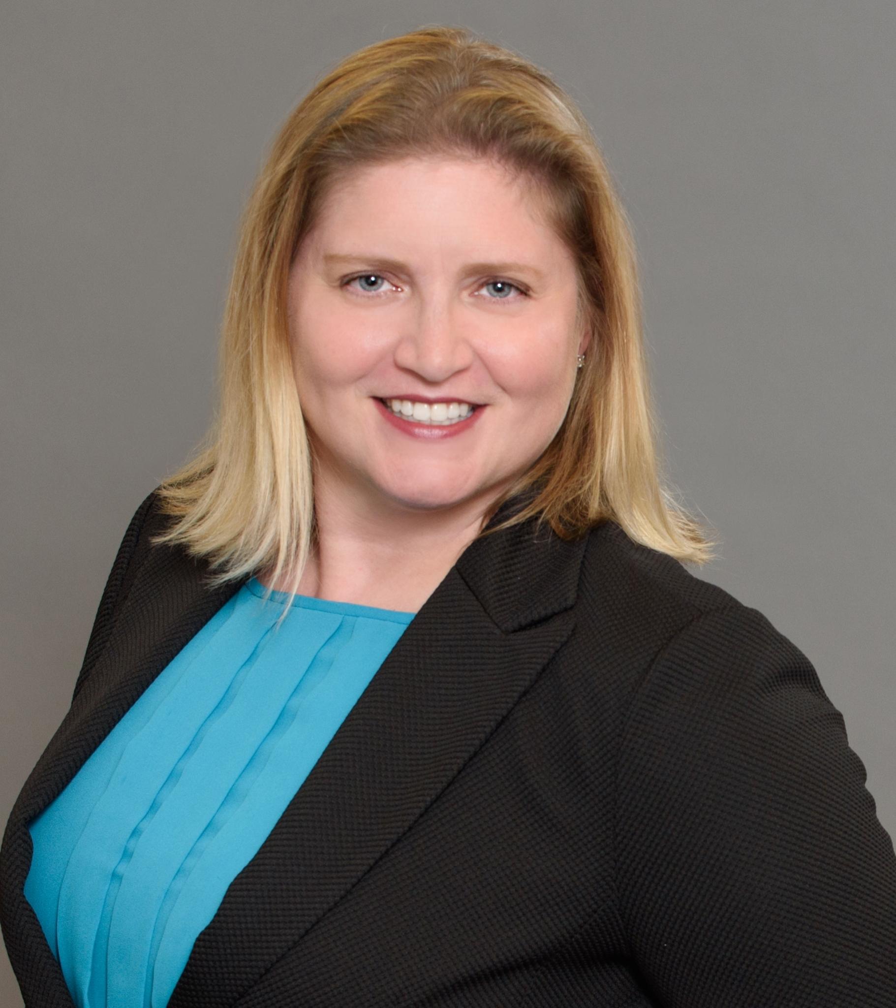 Headshot of Amelia Pellegrin, Director of Sustainable Development