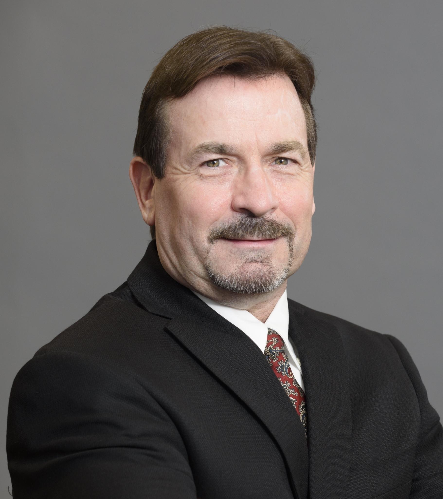 Headshot of Larry Sawatsky, Director of Finance