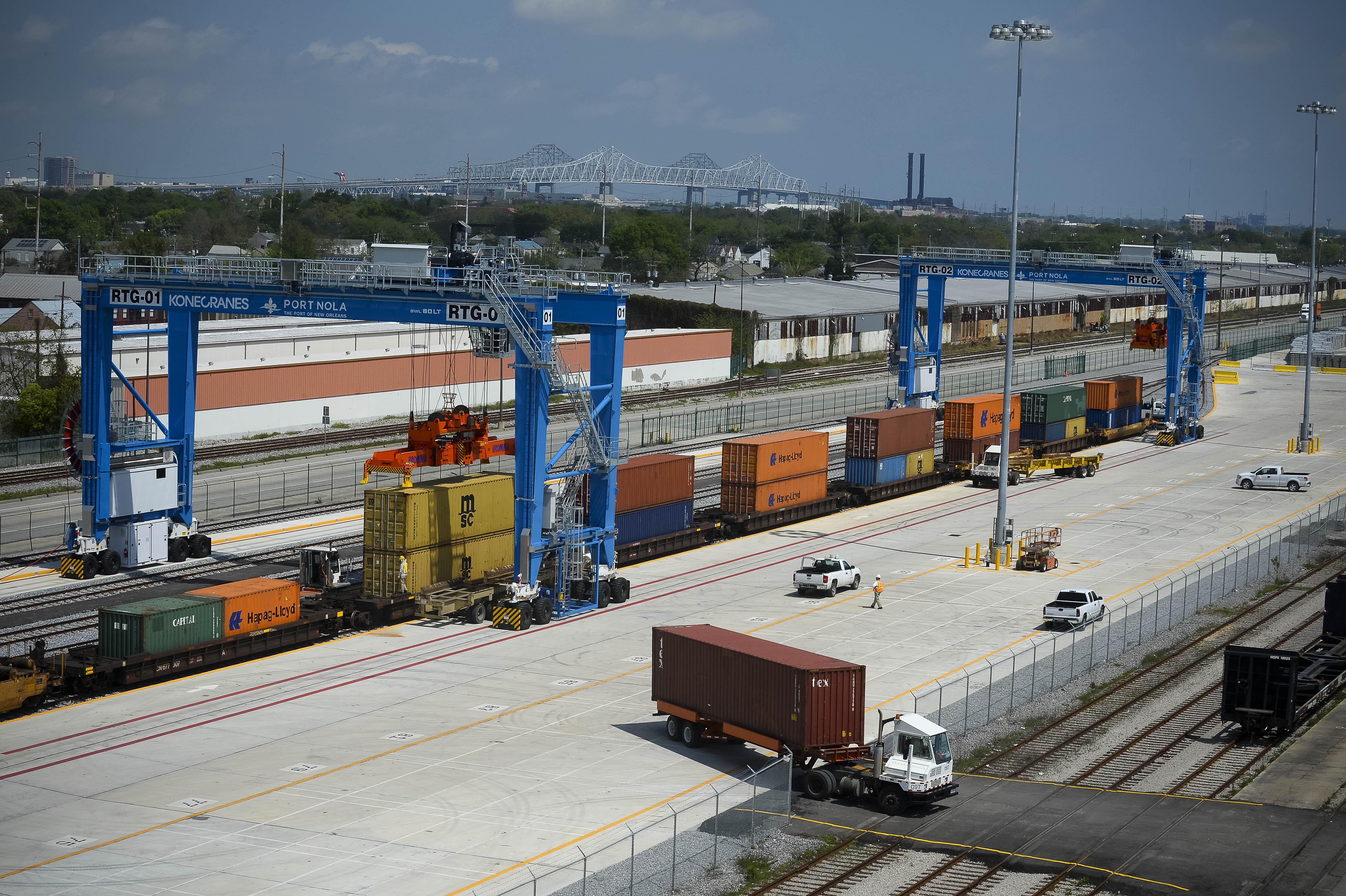 Mississippi River Intermodal Terminal